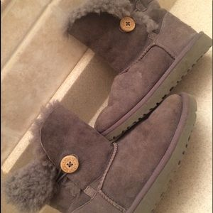Kids UGG Bailey Button Boots